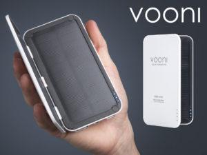 Vooni® Solcelle-oplader