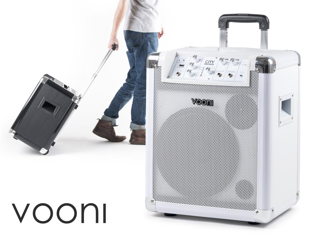 Vooni Cityrocker – Transportabel højtaler på hjul