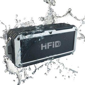 vandtæt hifi højtaler med bluetooth