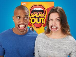 Speak out spillet på dansk