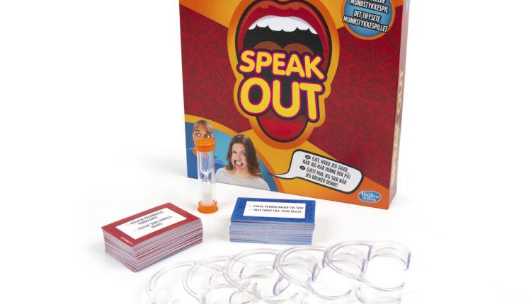 Speak out spillets indhold