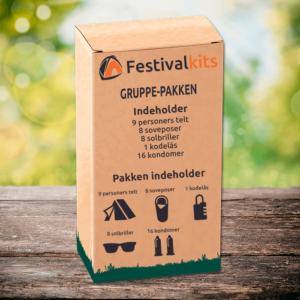 Festival kit til 8-9 personer