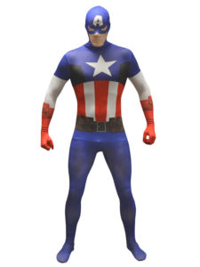 Captain America skinsuit