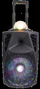 Festhøjtaler med LED lys