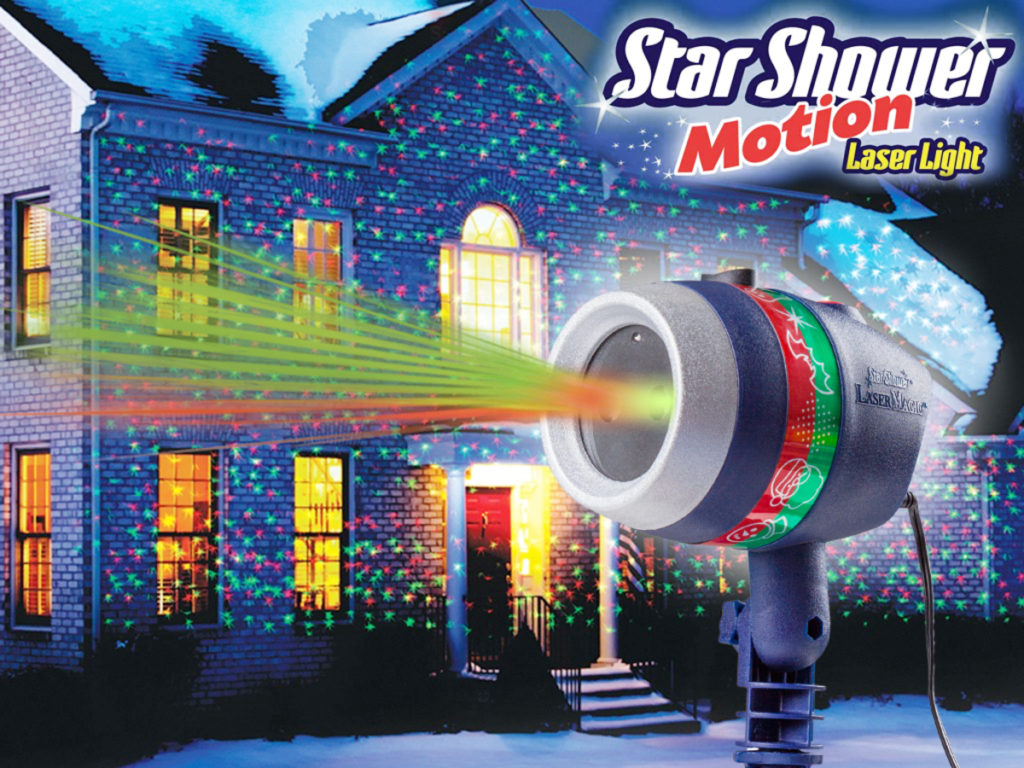 Star Shower laserlys