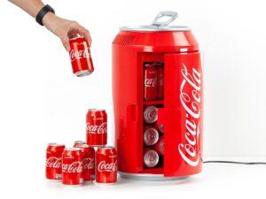 Coca Cola minikøleskab