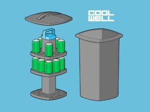 Den smart Cool well ølkøler