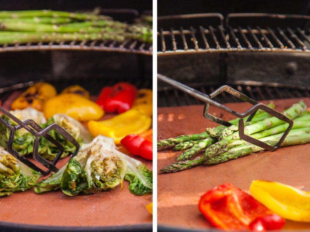 der grilles grøntsager