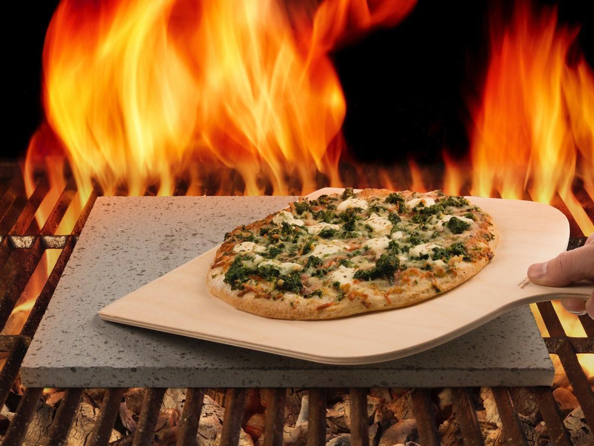 Pizzasten til ovn eller grill