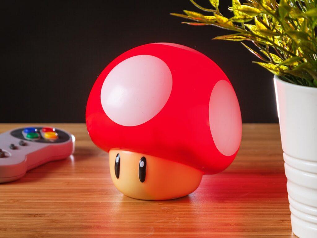 sjov Super-Mario lampe