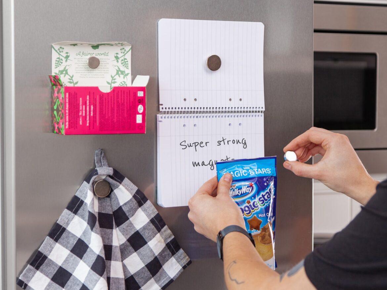 Stærke køleskabsmagneter