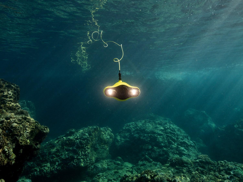se undervandsdronen i aktion