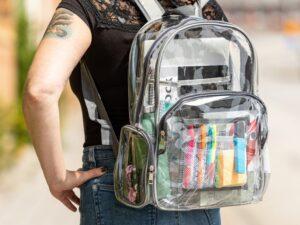 Gennemsigtig taske