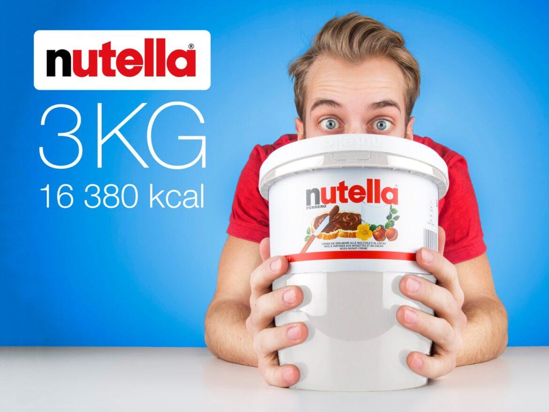 nutella spand hele 3 kg