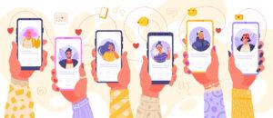 Dating via mobilen